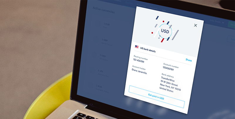 charges paying with transferwise