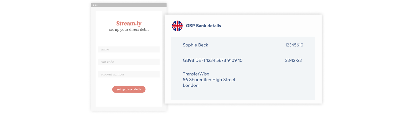 How to set up a Direct Debit