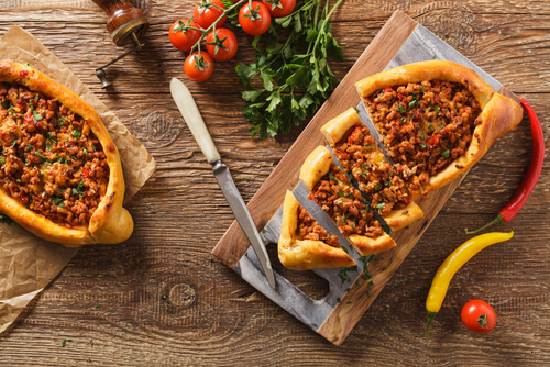 Turkish-pizza