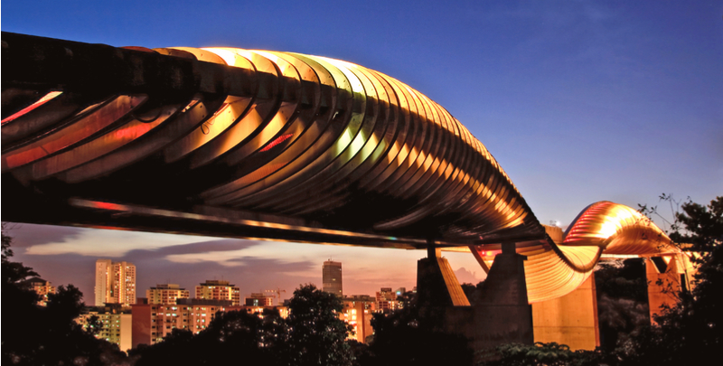 mount faber and henderson waves bridge