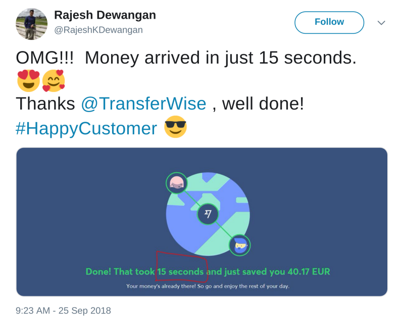 TransferWise Mission Report Q3 2018 - TransferWise