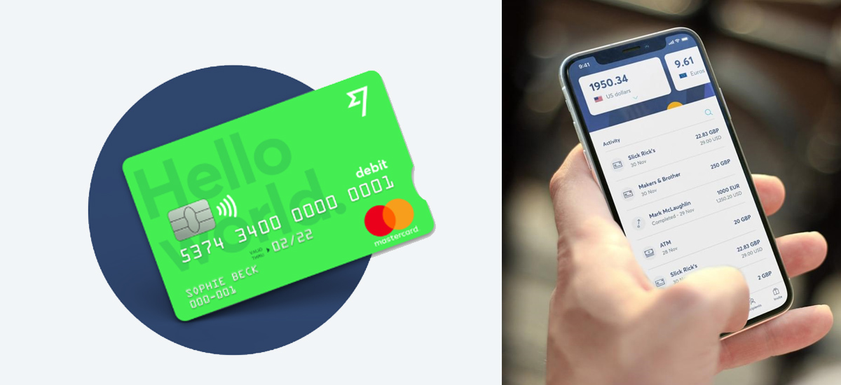 TransferWise Mastercard with balances
